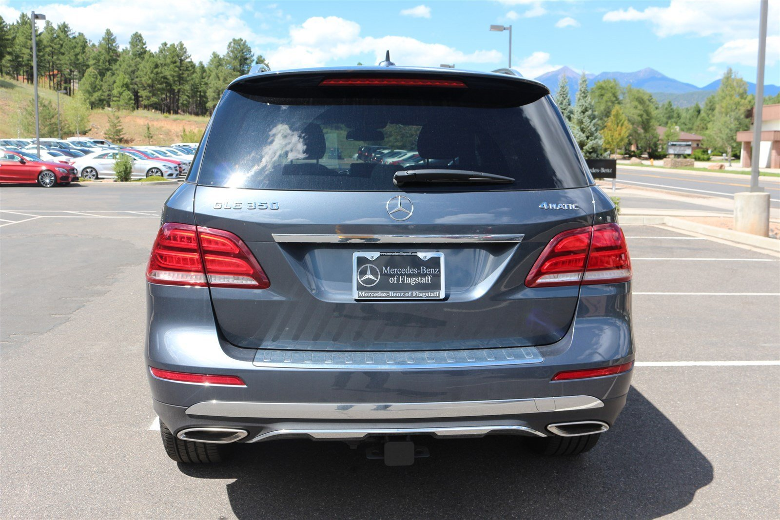 New 2016 mercedes benz gle gle350 suv in flagstaff mg1343 for Mercedes benz of flagstaff