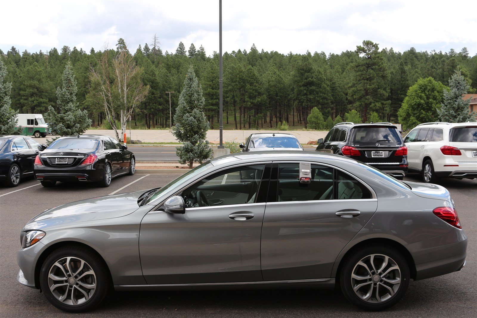 New 2016 mercedes benz c class c300 luxury sedan in for Mercedes benz of flagstaff