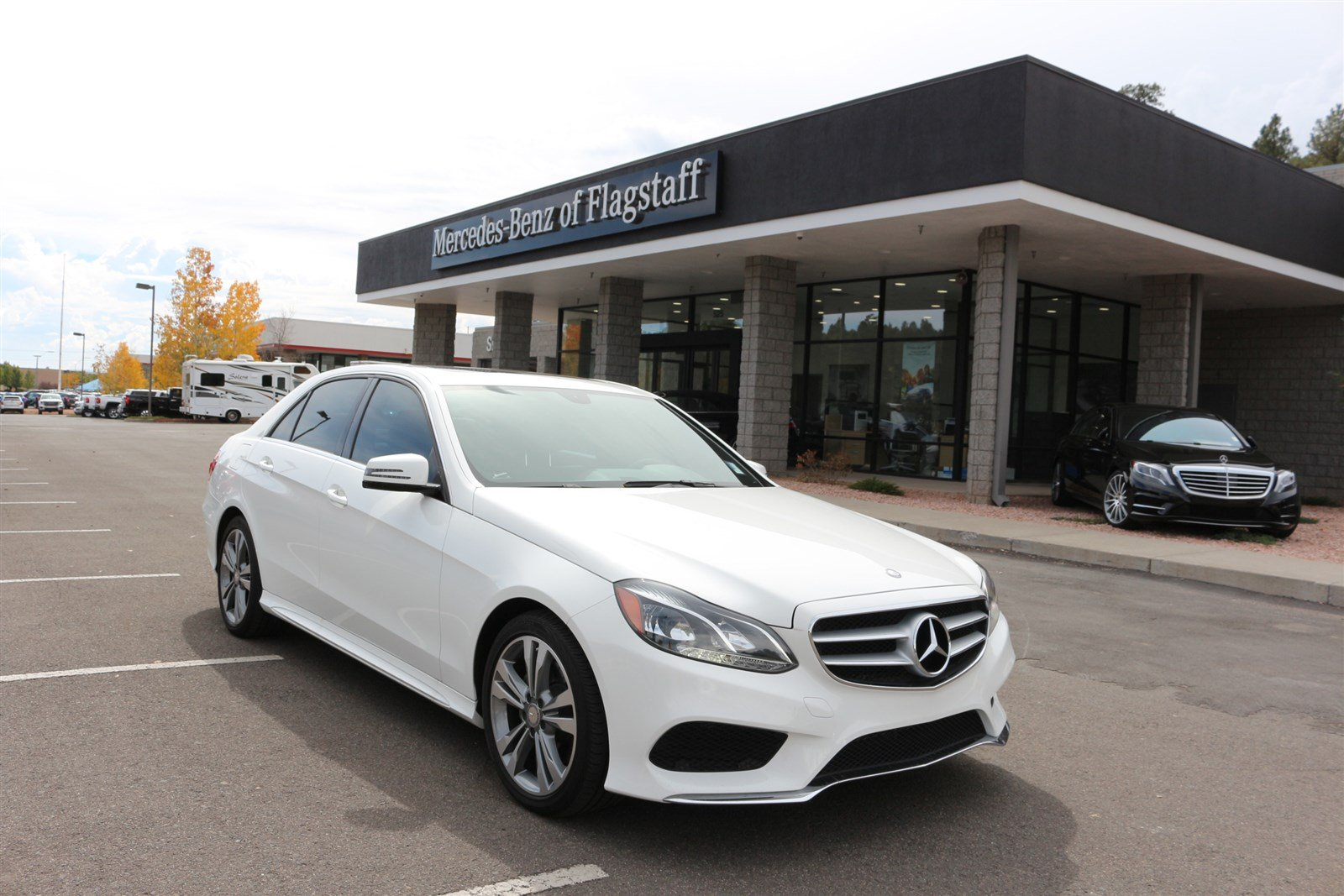 Certified pre owned 2014 mercedes benz e class e350 sport for Mercedes benz of flagstaff