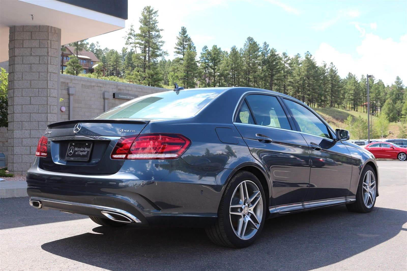 New 2016 mercedes benz e class e350 sport sedan in for Mercedes benz of flagstaff