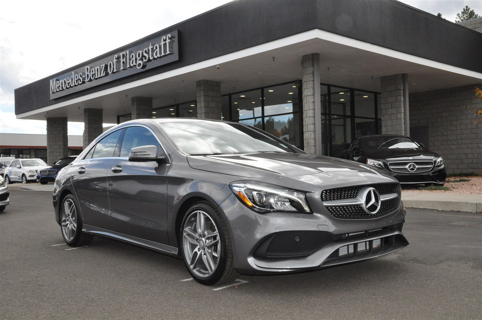 New 2017 mercedes benz cla cla 250 coupe in flagstaff for Mercedes benz cla 250 msrp
